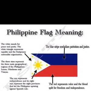 flag color meanings meaning of the philippine flag philippines
