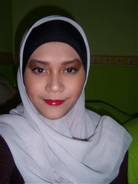 Mascara Aubeau beautiful hijabi fotd leopard