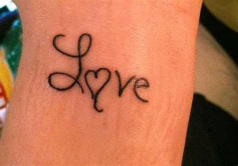 simple love tattoo designs 27 designs creativefan