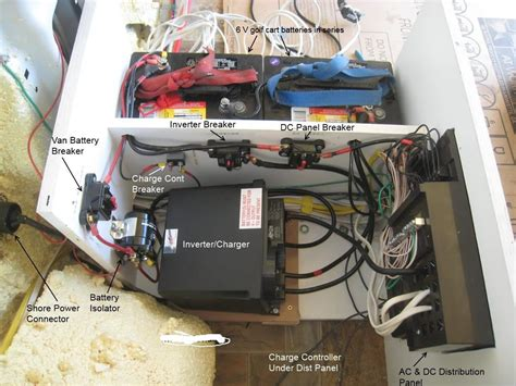 diy electrical and solar promaster cer van conversion