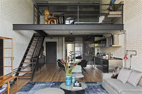 industrial lofts inspiration studio aiko 4 trendland industrial loft with an open plan and a cool chromatic palette