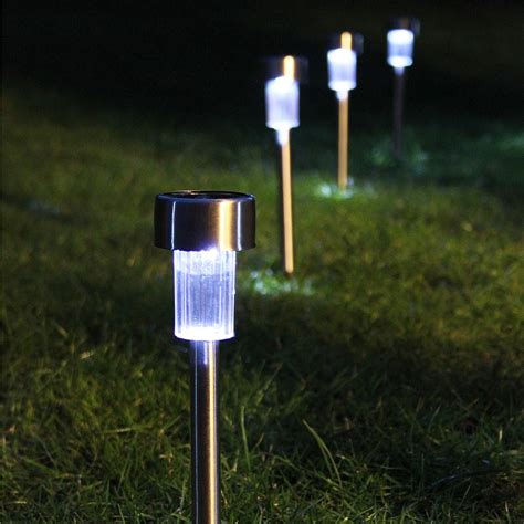 Outdoor Patio Solar Lights Solar Garden Lights On Winlights Deluxe Interior Lighting Design