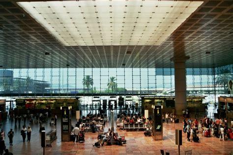 barcelona el prat simulation of the new terminal of barcelona airport