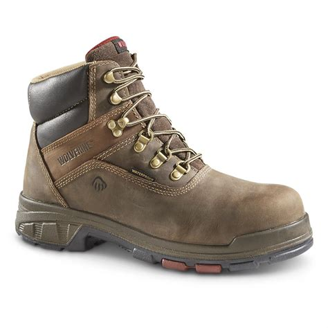 wolverine work boots for wolverine cabor epx work boots 647983 work boots at