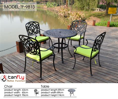 used cast aluminum patio furniture cast aluminum rust