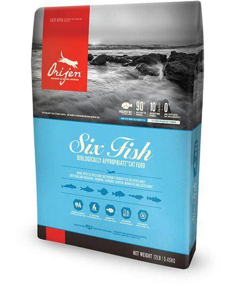 Orijen 6 Kg 13 2 Lb Six Fish orijen six fish cat food rich in protein grain free