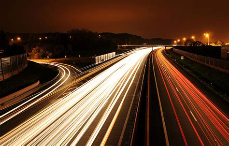 car lights photographing car light trails photography mad