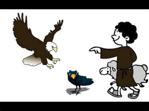 el aguila y el 6070735722 el aguila el pastor y el cuervo fabulas de esopo youtube
