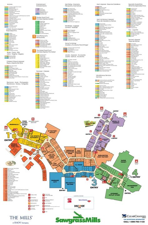 Mandalay Bay Floor Plan by Sawgrass Mills Mall Stores Map