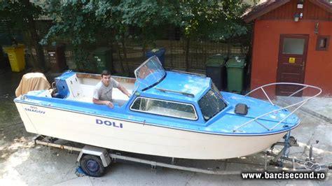 cabina barca salupa cu cabina si peridoc barcisecond vanzari