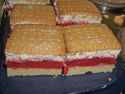 himbeer keks kuchen keks kuchen vom blech rezept mit bild duni30
