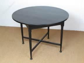 breakfast dining tables heal s ebonised circular breakfast dining table