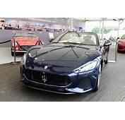 Maserati Showcases 2018 GranTurismo And GranCabrio At