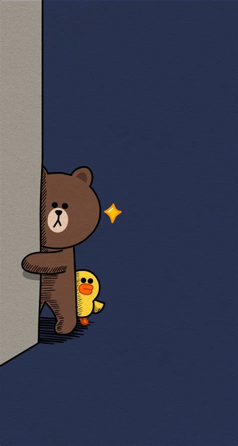 Wallpaper King Lines Brown brown and cony line foto 2017