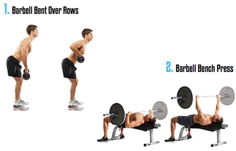 killer bench press workout 8 killer superset combos to boost workout intensity and
