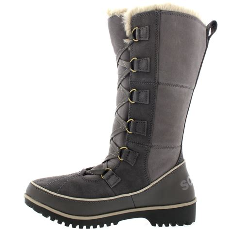 sorel tivoli high winter boots s sorel tivoli high ii mid calf winter warm suede