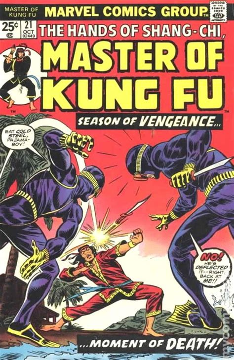 shang chi master of kung fu 130290132x master of kung fu 1974 comic books