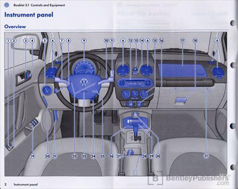 car repair manuals download 2006 volkswagen touareg instrument cluster excerpt volkswagen new beetle convertible owner s manual 2006 bentley publishers repair