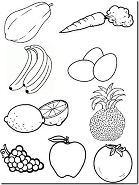 imagenes blanco y negro de frutas dibujos en blanco y negro de frutas y verduras