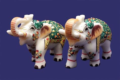 about indian wholesale sculpture statue handicraft and buy a set of hand crafted indian royal elephant gold