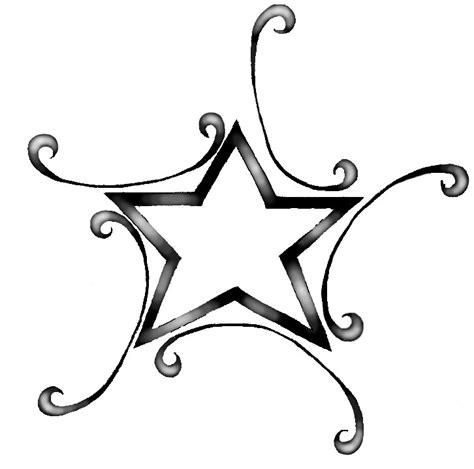 star tattoo drawing designs free tattoos clipart best