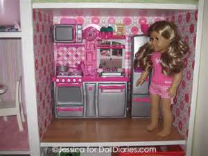 american doll kitchen set s american doll house and car garage doll