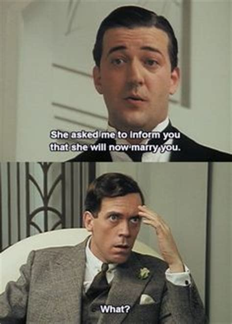 filme schauen jeeves and wooster stephen fry hugh laurie in jeeves and wooster quirky