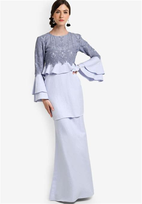 design dress raya terkini arabella peplum kurung 1 fashion fab pinterest