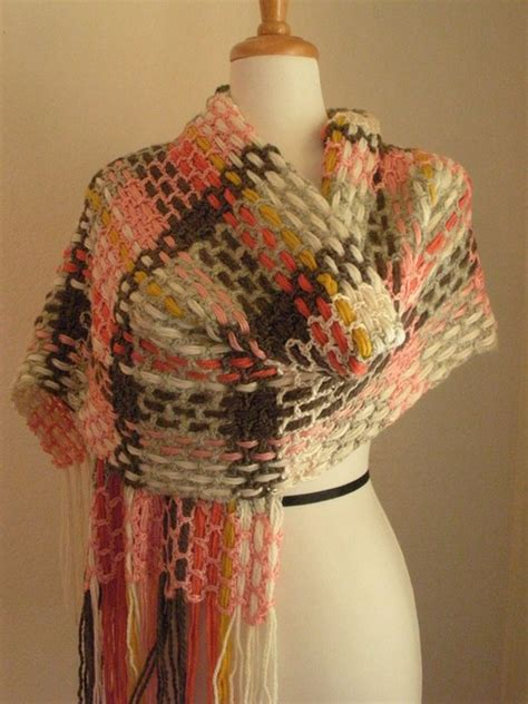 Handmade Scarves Patterns - crafts colorful scraves free crochet patterns
