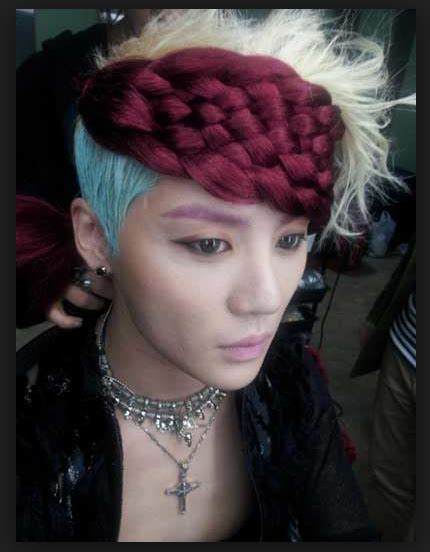 9 crazy k pop hairstyles you can t miss