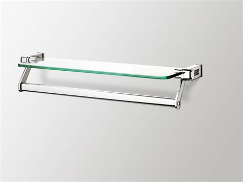 Glass Bathroom Shelves With Towel Bar A Sling Of Bathroom Accessories