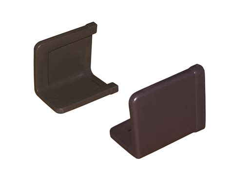 bed caps bed frame end caps set of two brown knickerbocker