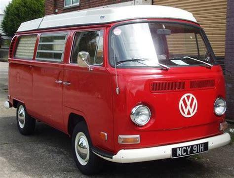 vw westfalia campmobile  sold car  classic