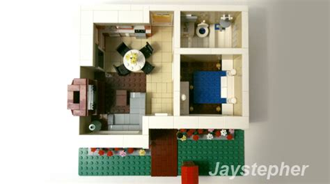 lego house floor plan lego ideas cozy bungalow