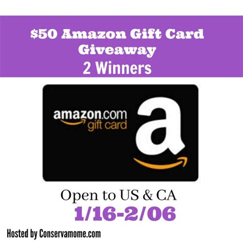 Amazon Gift Card Giveaway 2017 - 50 amazon gift card giveaway 2 winners powered by mom