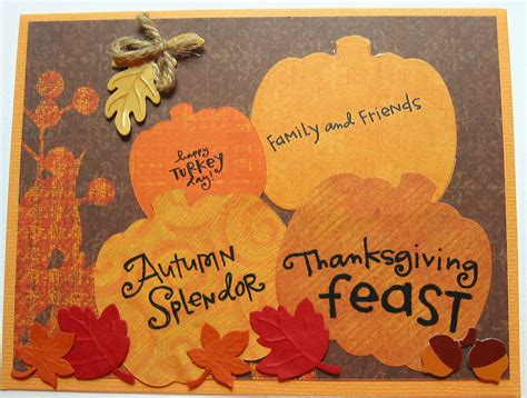 thanksgiving card carol hartery s creations thanksgiving cards day 2