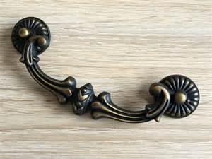 5 drop dresser drawer knob swing pulls handles antique