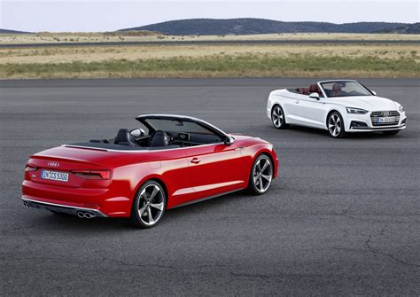 audi convertible 2017 audi a5 and s5 cabriolet unveiled forcegt com