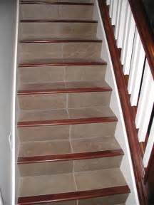Tile Stairs Ideas by Foothill Area Traditional Staircase Salt Lake City