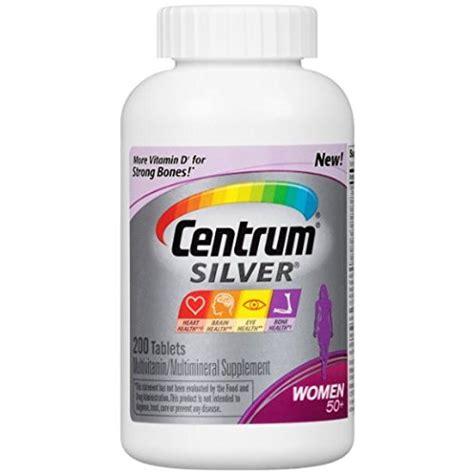 Vitamin Centrum multi prenatal vitamins centrum silver multivitamin multimineral supplement tablet