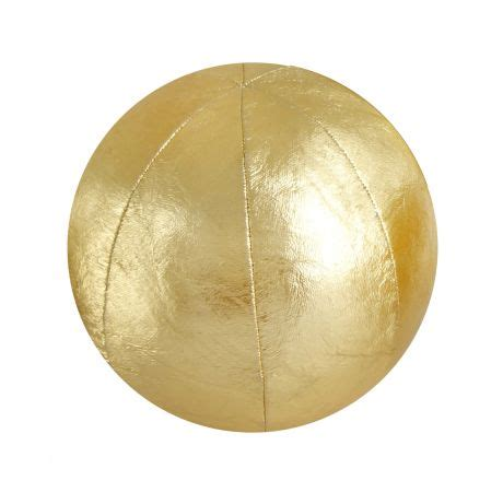 Sphere Pillow by Gold Pillow Sphere Buy It
