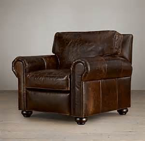 Restoration Hardware Recliner Lancaster Leather Recliner