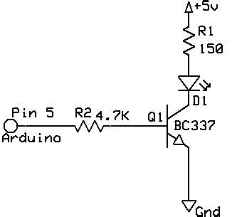 base resistor for 2n2222 paul s electronics arduino figuring out transistors and associated resistors
