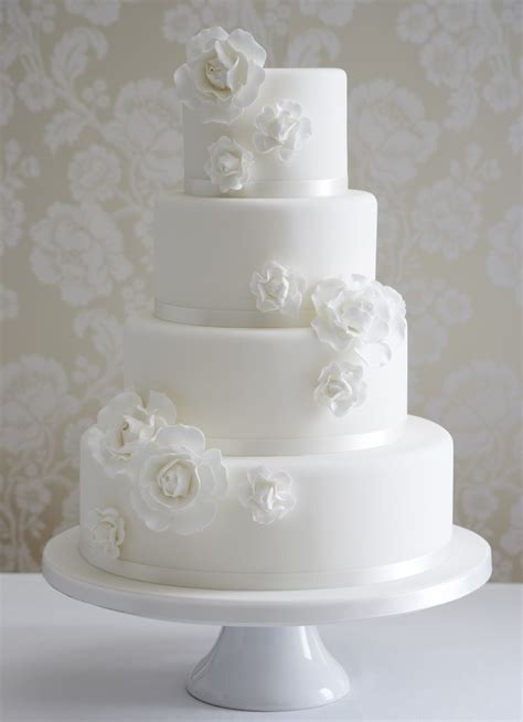 where can i get a wedding cake white floral cake