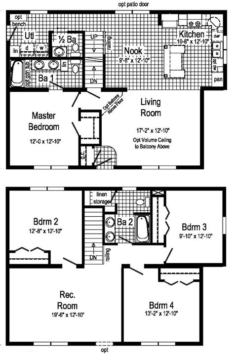 two story mobile home floor plans 100 two story mobile homes floor plans house plans