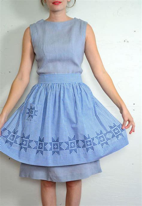 Gingham Panel A Line Dress 1191 best vintage 50 s images on