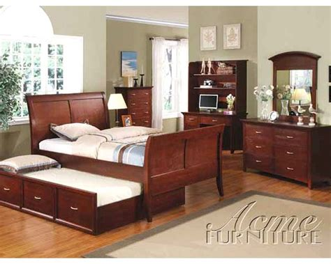 Acme Bedroom Furniture Sets by Acme Furniture Bedroom Set In Wenge Ac08345tset