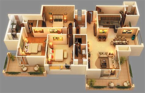 Floor Plan Designs For Homes 2 3 bhk luxurious apartments in sector 150 noida amp noida