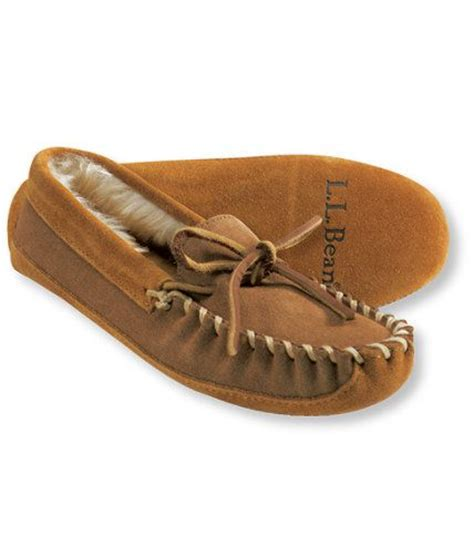 ll bean slippers mens bean s moccasin s slippers free