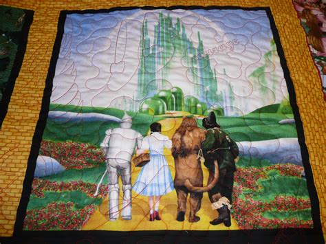Wizard Of Oz Quilt Pattern by Acorn Ridge Quilting Marge S Wizard Of Oz Quilt